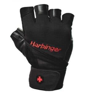 Harbinger Pro Wristwrap Gloves - Træningshandsker med håndledsstøtte